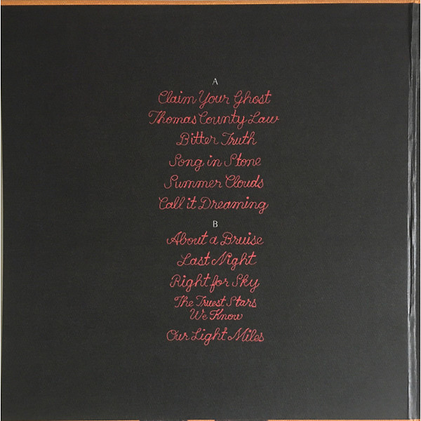Iron And Wine - Beast Epic (Ltd. Blue Etched 2LP Deluxe Edition) (Back)
