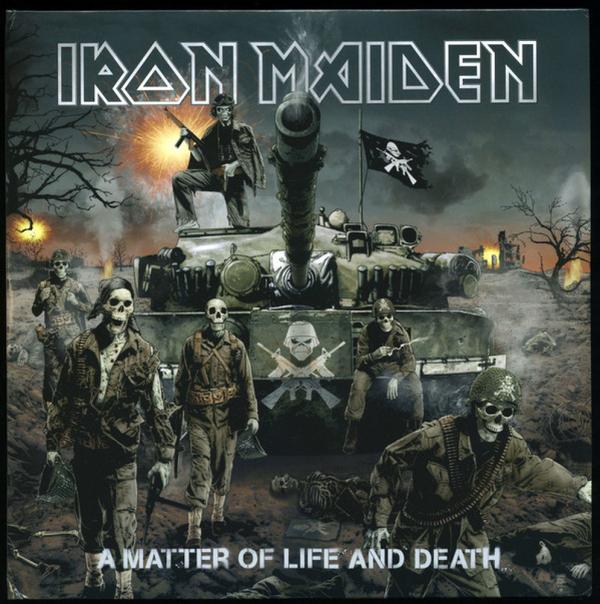 Iron Maiden - A Matter Of Life & Death (Ltd. 180g 2LP, RM2015) (Back)