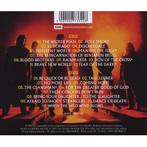 Iron Maiden - From Fear To Eternity: Best Of (Back)