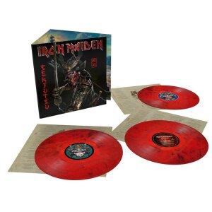 Iron Maiden - Senjutsu (3LP Red/Black Marbled Edition)