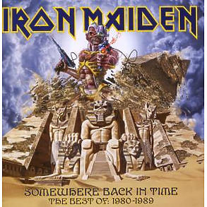 Iron Maiden - Somewhere Back In Time-Best Of