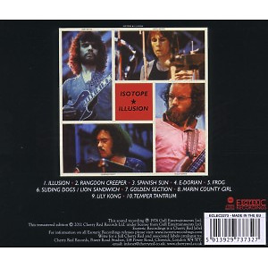 Isotope - Illusion (Remastered) (Back)