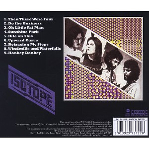 Isotope - Isotope (Remastered) (Back)