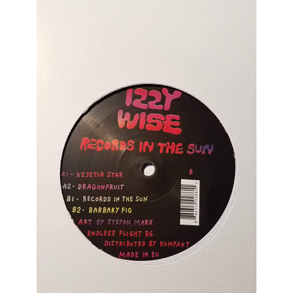 Izzy Wise - Records In the Sun