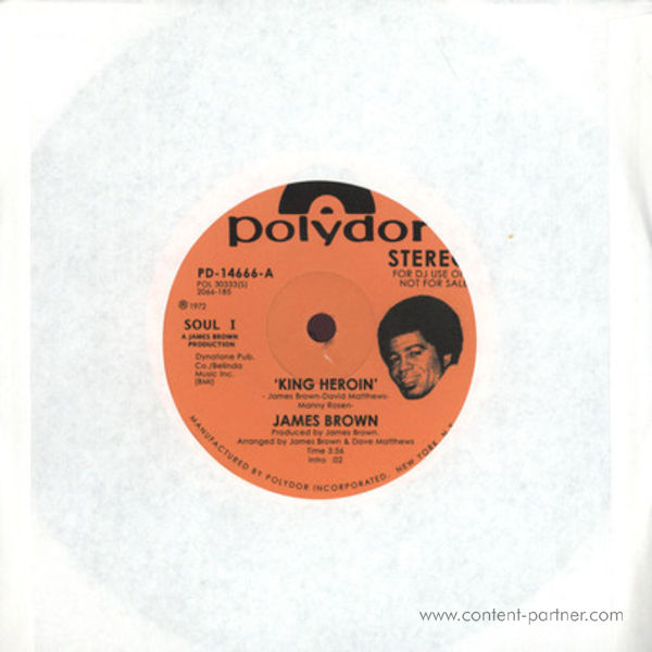 JAMES BROWN - King Heroin (Vocal + Instrumental)