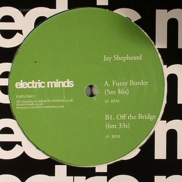 JAY SHEPHEARD - FUZZY BORDERS (Back)
