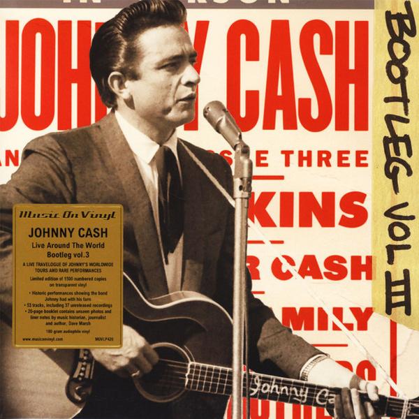 JOHNNY CASH - BOOTLEG 3: Live Around the World (3LP)