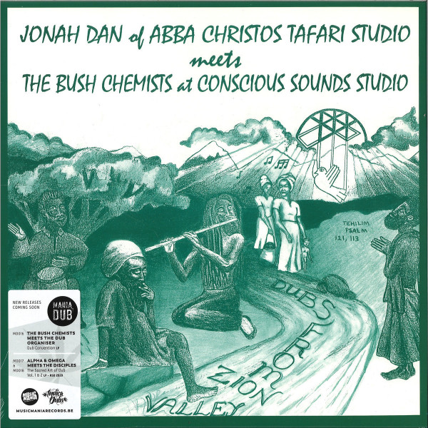 JONAH DAN MEETS THE BUSH CHEMISTS - DUBS FROM ZION VALLEY LP