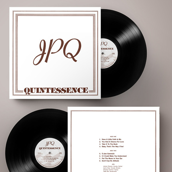 JPQ - Quintessence (Black Vinyl Deluxe 180g Edition) (Back)