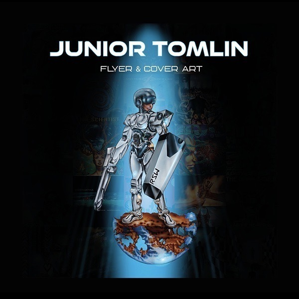 JUNIOR TOMLIN - FLYER & COVER ART