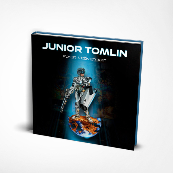 JUNIOR TOMLIN - FLYER & COVER ART (Back)