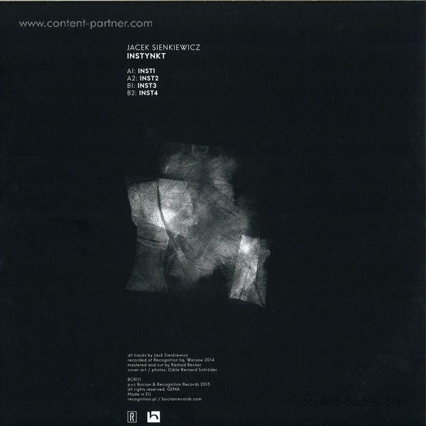 Jacek Sienkiewicz - Instynkt (Back)