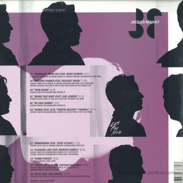 Jacques Renault - Zentrum LP (Back)