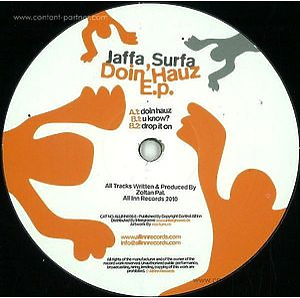 Jaffa Surfa - Doin Hauz EP (2015 Repress)