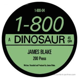 James Blake - 200 Press (12''+7'' Double Pack)