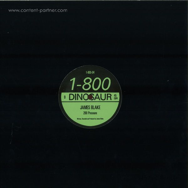 James Blake - 200 Press (12''+7'' Double Pack) (Back)