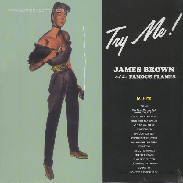 James Brown and his Famous Flames - Try Me (LP Re-Issue)