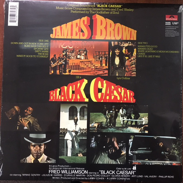 James Brown - Black Caesar (OST) (Ltd. 180g reissue) (Back)
