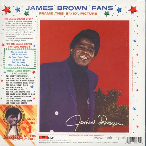 James Brown - It's A Man's Man's Man's World (LP) (Back)