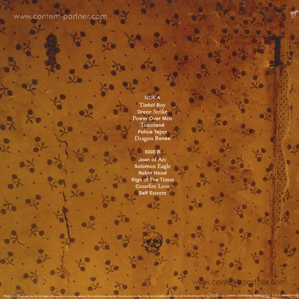 Jamie T - Trick (LP) (Back)