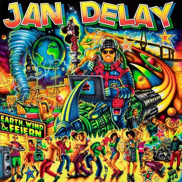 Jan Delay - Earth, Wind & Feiern (2LP)