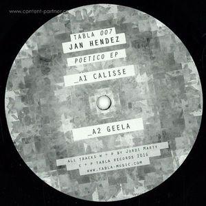 Jan Hendez - Potico EP