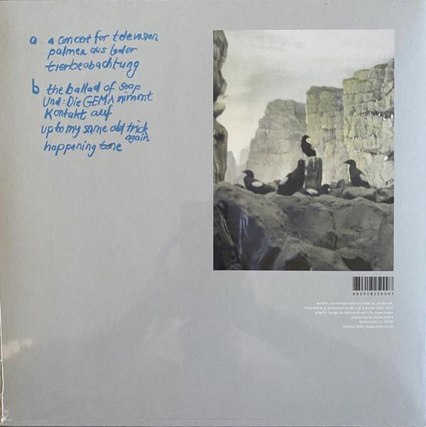Jan Jelinek - Tierbeobachtungen (LP+MP3) (Back)