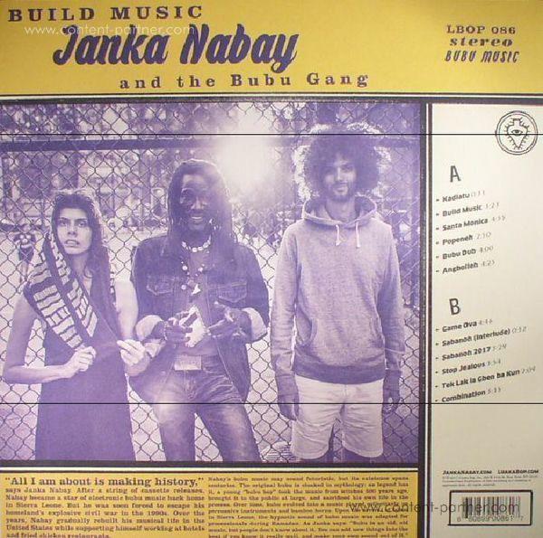 Janka Nabay And The Bubu Gang - Build Music (Back)