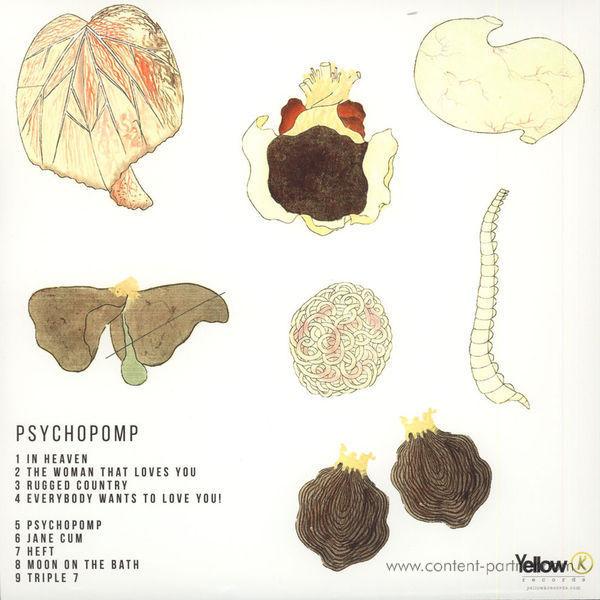 Japanese Breakfast - Psychopomp (Ltd. Ed. Colored Vinyl) (Back)