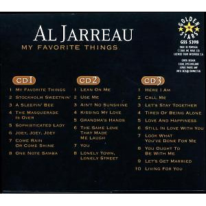 Jarreau,Al - My Favourite Things (Back)