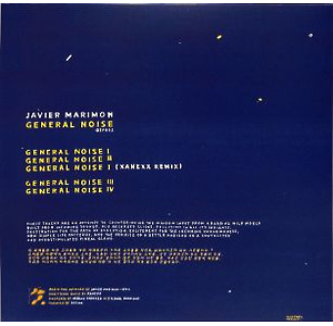 Javier Marimon - GENERAL NOISE (Back)