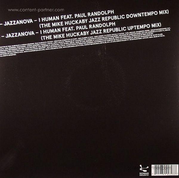 Jazzanova - I Human (Mike Huckaby Rmx  Lim.ed.) (Back)