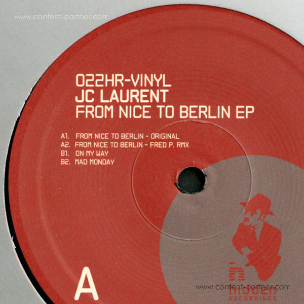 Jc Laurent - From Nice to Berlin EP, Fred P. Remix