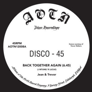 Jean & Trevor - Back Together / Back Together (Dub)