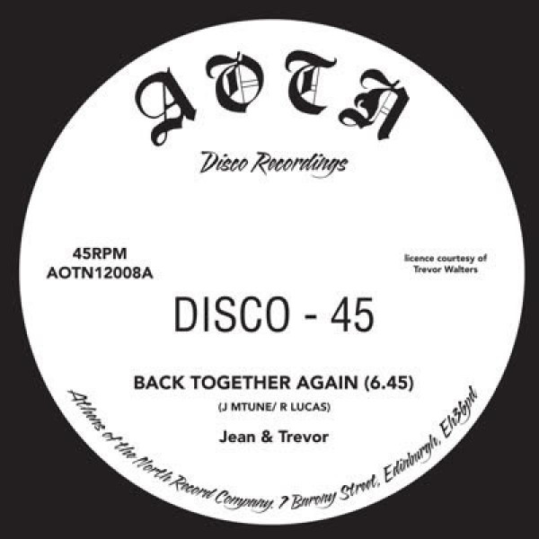 Jean & Trevor - Back Together / Back Together (Dub)
