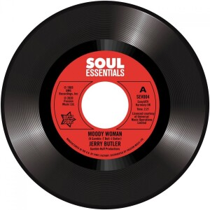 "Jerry Butler - Moody Woman / Stop Steppin' On My Dream (7"")"