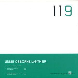 Jesse Osborne-Lanthier - Unalloyed, Unlicensed, All Night!