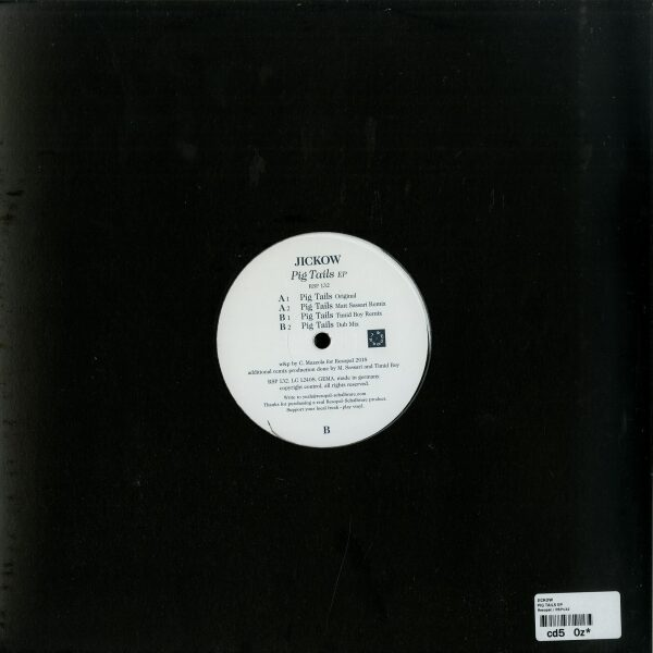 Jickow - PIG TAILS EP (Back)