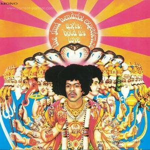 Jimi Hendrix - Axis: Bold As Love (180g Vinyl Mono Version)