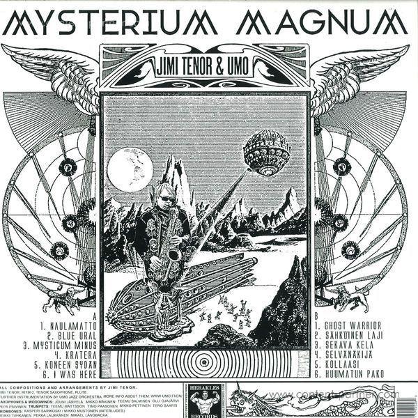Jimi Tenor & Umo - Mysterium Magnum (Back)