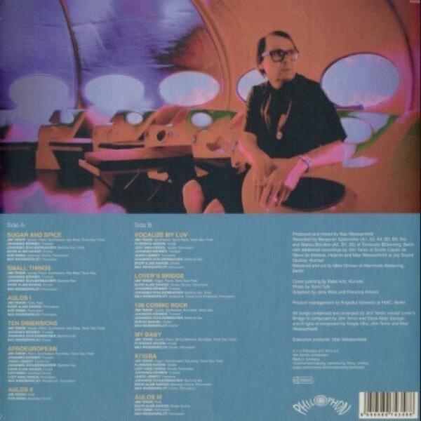 Jimi Tenor - Aulos (Vinyl LP) (Back)