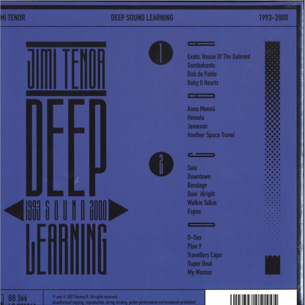 Jimi Tenor - Deep Sound Learning (2LP) (Back)