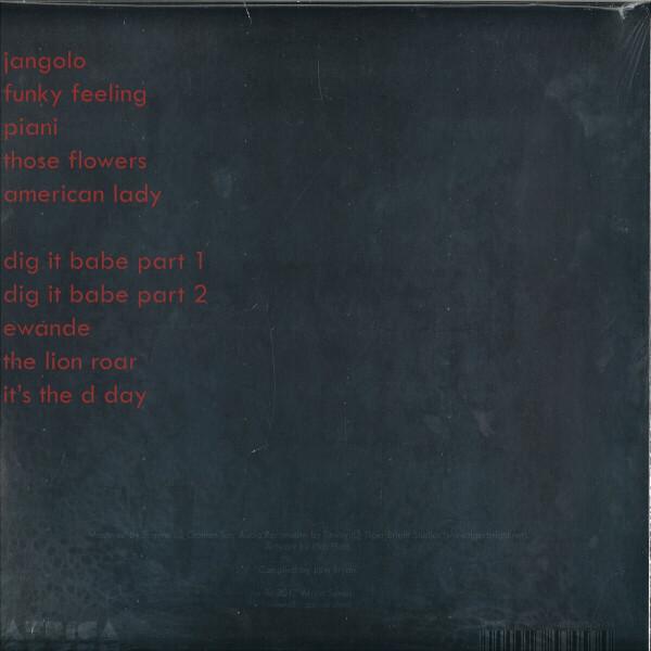 Jo Tongo - African Funk Experimentals (1968-1982+2017) (Back)