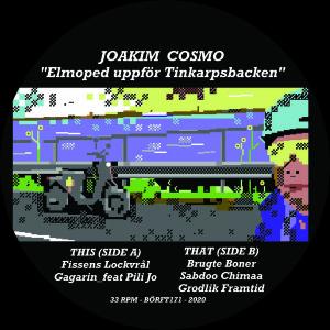Joakim Cosmo - Elmoped uppfor Tinkarpsbacken