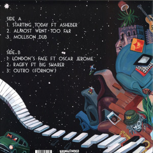 Joe Armon-Jones - Starting Today (Gatefold Reissue LP) (Back)