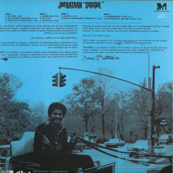 Joe Bataan - SalSoul (2LP Reissue) (Back)