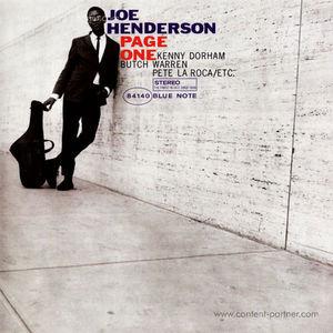Joe Henderson - Page One (Rem. + DL)
