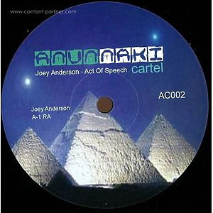 Joey Anderson - Act Of Speech EP (Vinyl Only)