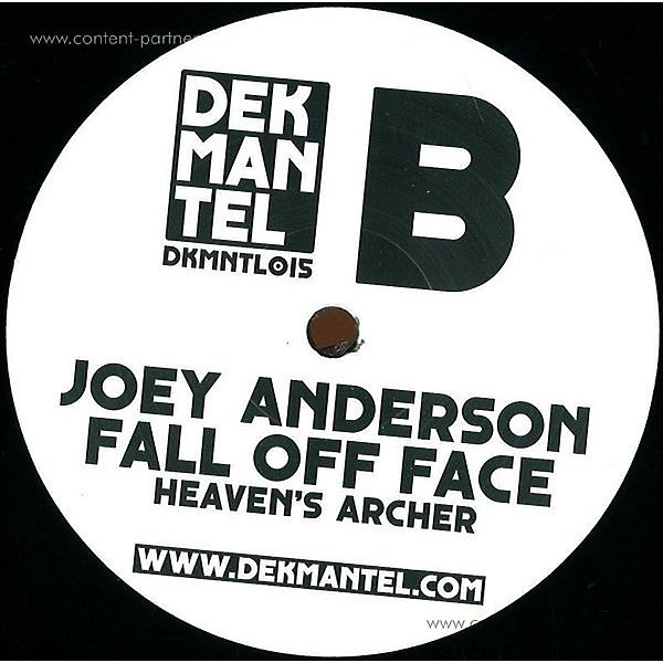 Joey Anderson - Fall Of Face (Back)