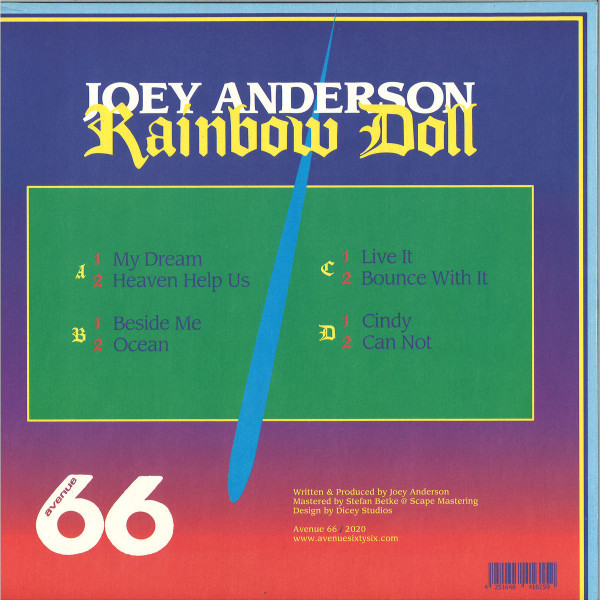 Joey Anderson - Rainbow Doll (2LP) (Back)